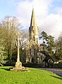 Leafield, Church and Cross - geograph.org.uk - 1671372.jpg