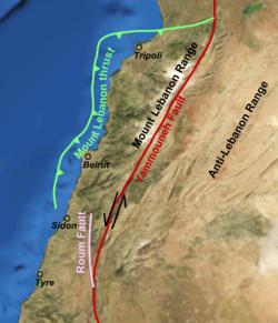 551 Beirut earthquake