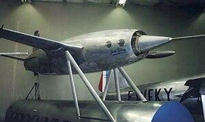 Leduc 0.10 - Leduc 0.16 preserved at the Musée de l'Air et de l'Espace at Le Bourget