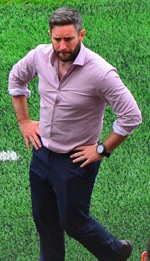 Lee Johnson (footballer) - Johnson managing Bristol City in 2016