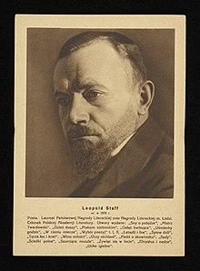 Leopold Staff Wikipedia Wolna Encyklopedia