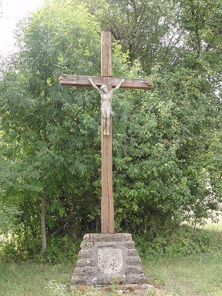 Les Éparges (Meuse) croix de chemin sud