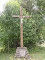 Les Éparges (Meuse) croix de chemin sud.JPG