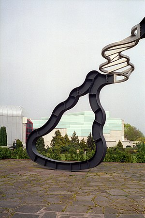 Richard Deacon (sculptor) - Richard Deacon. Lets Not Be Stupid at the University of Warwick