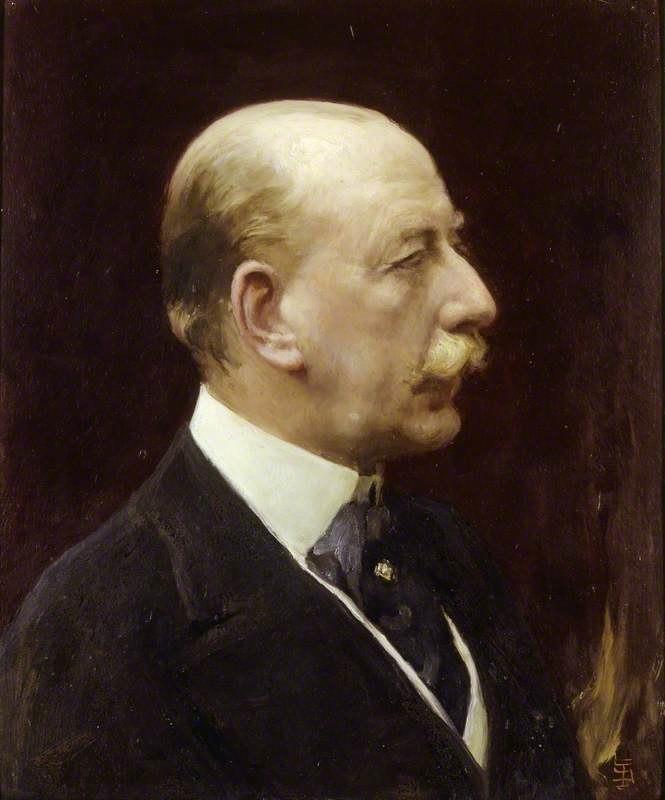 Lewis Viscount Harcourt by Solomon J Solomon