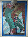 Leytonstone tube station - Hitchcock Gallery- Vertigo (1958) (geograph 4081899).jpg