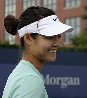 Li Na at the 2009 US Open