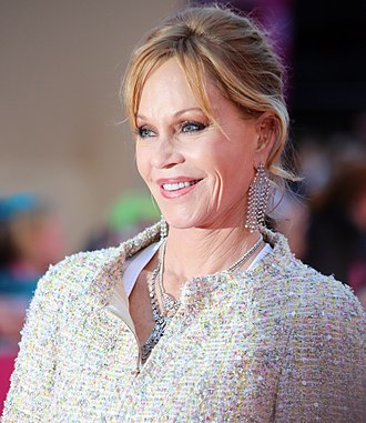 13th Golden Raspberry Awards - Image: Life Ball 2013 magenta carpet Melanie Griffith 02