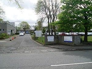 Lightburn, Glasgow - Lightburn Hospital
