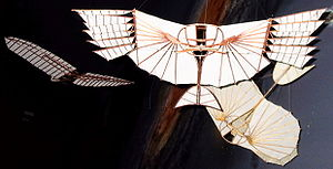 Otto Lilienthal - Models of his gliders