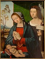 La Vierge, l'Enfant et sainte Cécile