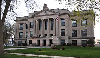 Lincoln County, Minnesota - Image: Lincoln County Courthouse MN