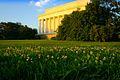 Lincoln Memorial in sunset.jpg