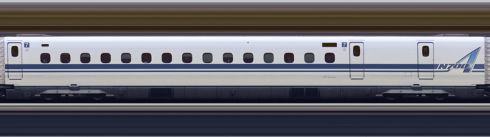Line scan photo of Shinkansen N700A Series Set G13 in 2017, car 07.png