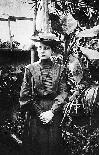 Lise Meitner - Meitner in 1906