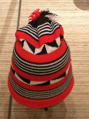 Igbo culture - A traditional Igbo hat made entirely from wool.