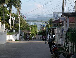 Livingston, Guatemala - Livingston main street