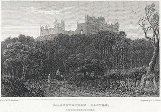 Llanstephan Castle: Caermarthenshire