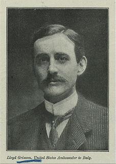 Lloyd Carpenter Griscom American diplomat
