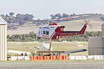 Lloyd Helicopters (VH-VAO), formerly HEMS5, Bell 412EP at Wagga Wagga Airport.jpg