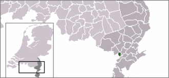 Thorn, Netherlands - Former municipality of Thorn, shown within Limburg