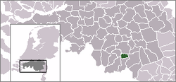 Location of Waalre