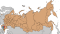 Location Grozny Map of Russian subjects, 2008-03-01.png
