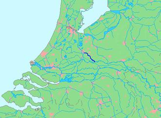 Kromme Rijn - Image: Location Kromme Rijn