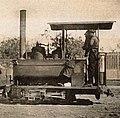 Locomotive of type 'La Mignone' of the Diego Suarez - le Camp d'Ambre railway (cropped).jpg