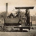 Locomotive of type 'La Mignone' of the Diego Suarez - le Camp d'Ambre railway (cropped).jpg