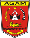 Official seal of Agam Regency