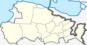 Ломоносовский муниципальный район, карта