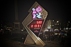 London 2012 countdown clock (1)