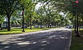 Looking W - 21st St SW and Independence Ave SW - Washington DC.jpg