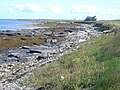 Looking along the coastline at Broughton - geograph.org.uk - 954061.jpg