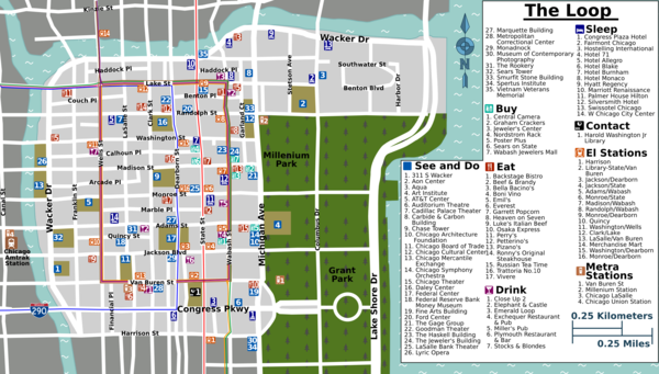 Chicago map pdf downtown my blog chicago loop map pdf chicago loop map pdf sciox Image collections