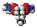Lorbamate molecule spacefill.png