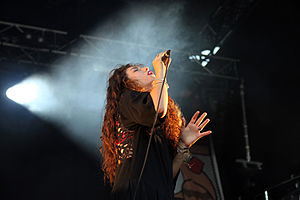 St Jerome's Laneway Festival - Lorde performing at the 2014 Sydney Laneway
