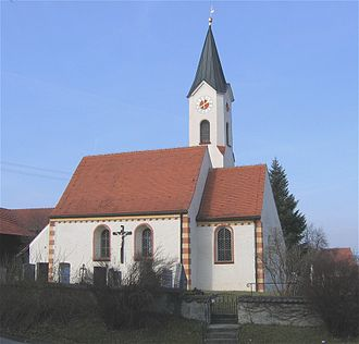 Aßling - Image: Lorenzenberg 1