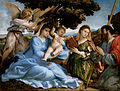 Lorenzo Lotto - Madonna and Child with Saints Catherine and Thomas (sacra conversazione) - Google Art Project.jpg