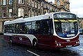 Lothian Buses bus 164 Volvo B7RLE Wrightbus Eclipse Urban SN58 BYR new Madder and White livery.jpg