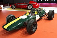 Lotus 33 (1963), Paris Motor Show 2018, IMG 0336.jpg