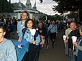 Lourdes - Scouts in procession - panoramio.jpg