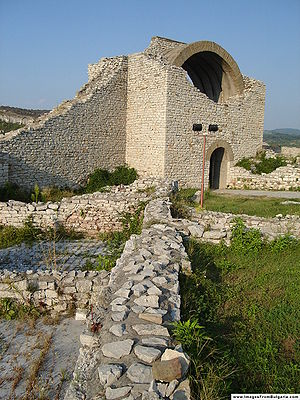 Lovech Province - Lovech's ruined fortress.
