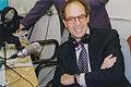 Loyd Grossman opens Pulse FM student radio station, 1999.jpg