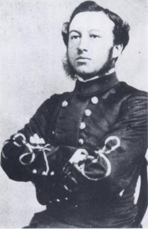 Confederate States Marine Corps - Example of Confederate Marine Corps uniform (Confederate Marine Lt Frances H. Cameron in 1864)