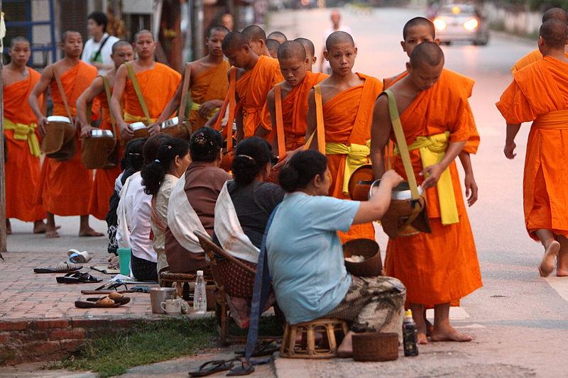 Luang Prabang Monks Alm Dawn 01.jpg