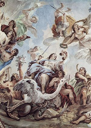 Justice - Justice by Luca Giordano.