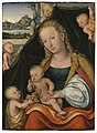 Lucas cranach the younger the virgin and child with the infant saint.jpg
