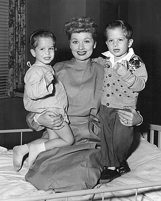 I Love Lucy - Mike (left) and Joe Mayer both played Little Ricky as a toddler.